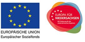 Logo EU und Niedersachsen